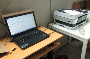 Office - Laptop & Printer (2)