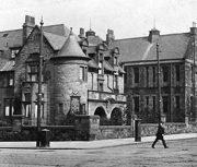Black and white archive photo of Royal Samaritan Hospital