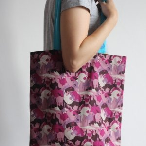 Animal Camo Tote Bag
