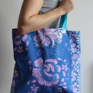 Hawaiian Blue Tote Bag