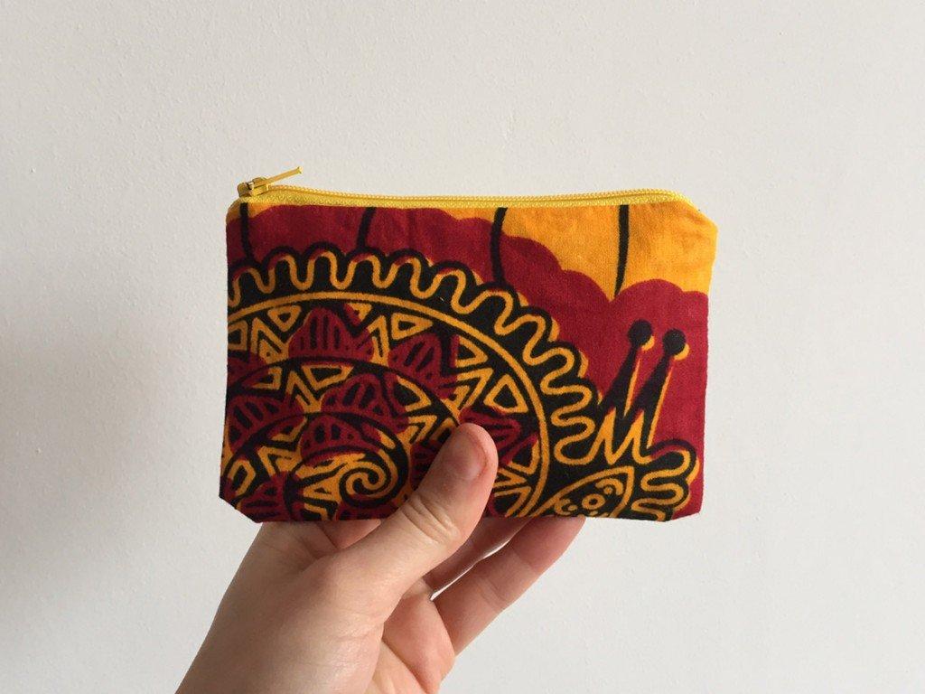 Yellow batik yellow zip