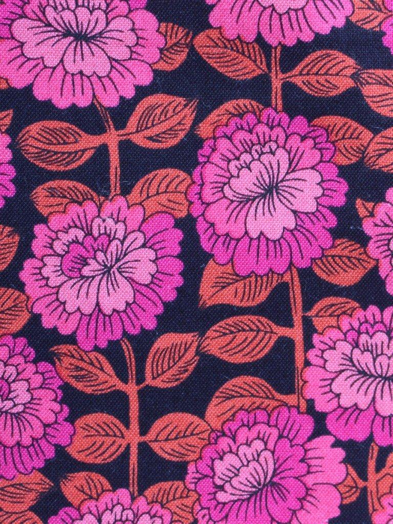 Fuchsia Floral tote bag