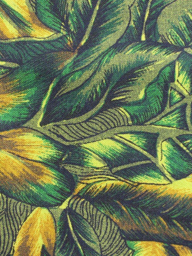 Jungle tote bag close up