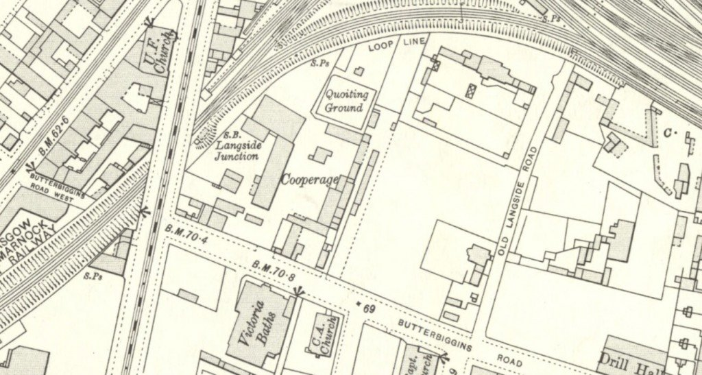 Archival street map of Govanhill