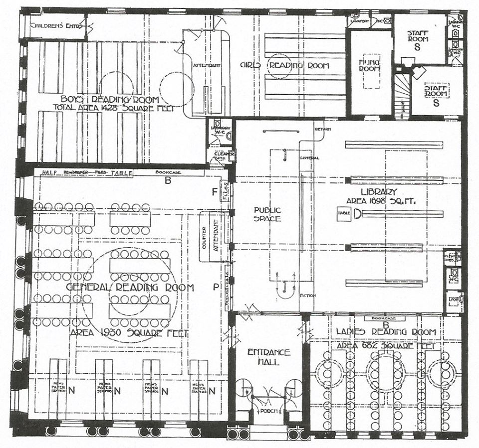 Architect's floor plan