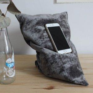 Dark grey phone holder 1