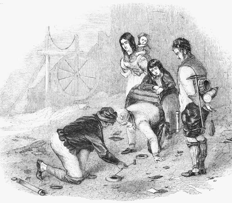 Engraving of Quoits