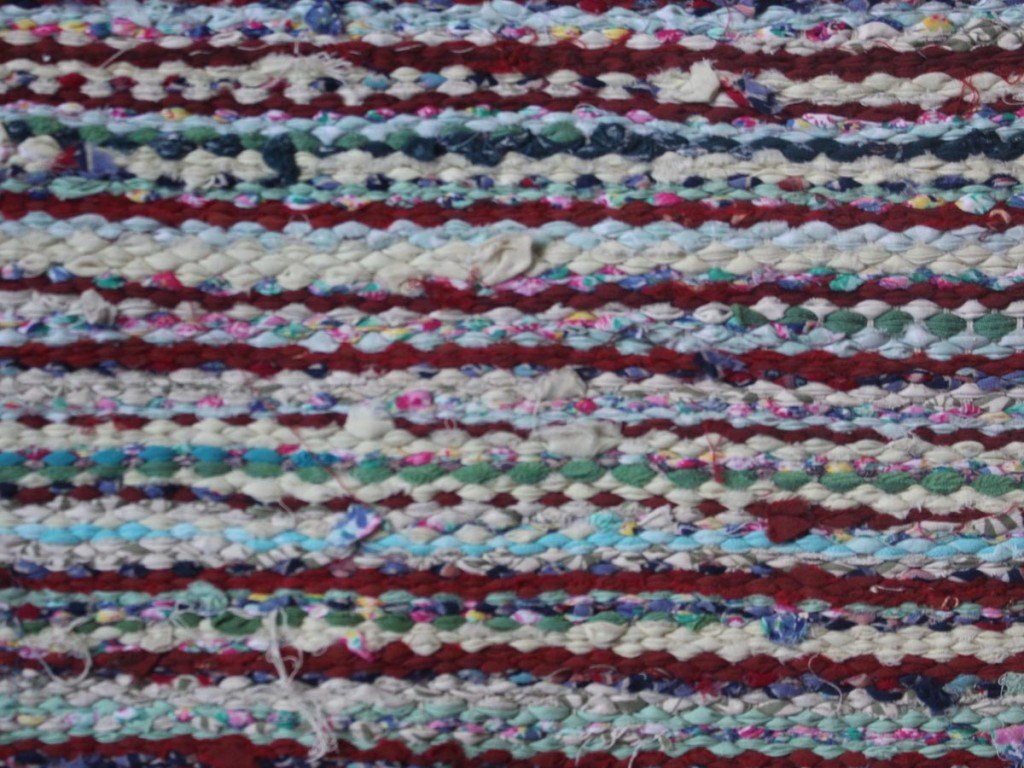 Small rug Close up